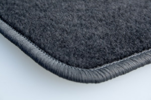 Tapis Ford Galaxy 5 Places (2006-) - Aiguilleté Gris