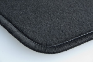 Tapis Nissan Leaf (01/2018-) - Aiguilleté Noir