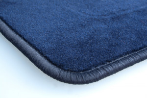 Tapis Mazda 3 (2009-2011) – Velours Bleu Foncé