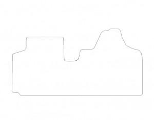 Tapis Fiat Scudo (2007-2011) – Velours Luxe Gris