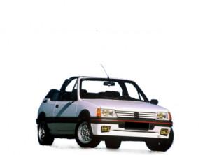 205 Cabriolet (02/1983 - 07/1987)